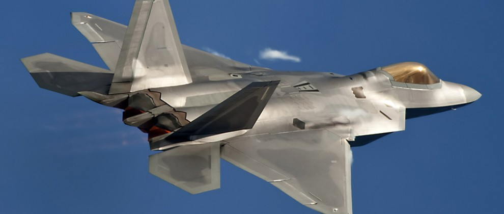 F-22 with Bron Conponents