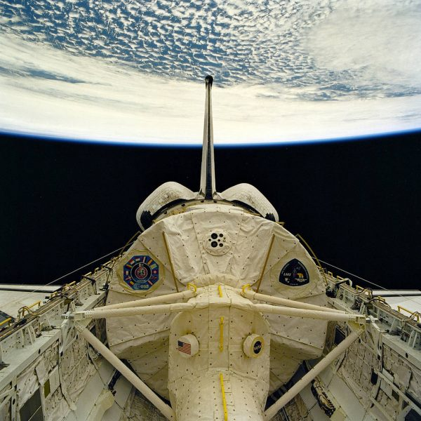 STS-78 ONBOARD PHOTO: LIFE AND MICROGRAVITY SCIENCES (LMS) MODULE VIEW IN CARGO BAY.