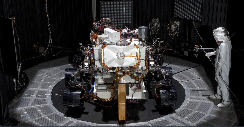 Beta-Cloth-Curiosity-Mars-Rover